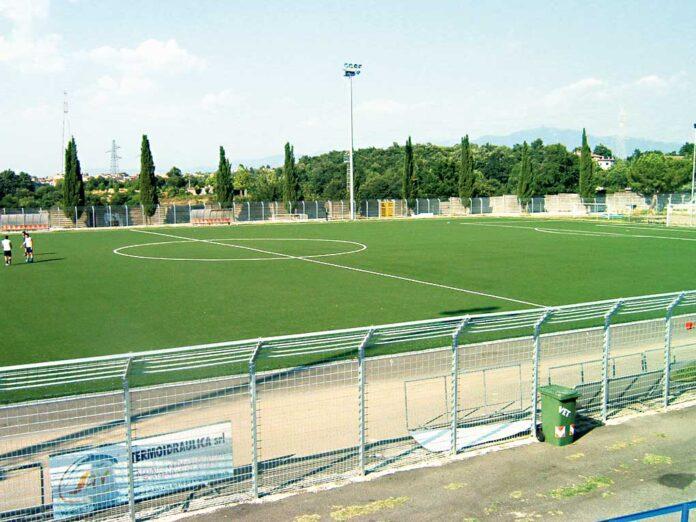 Campo sportivo XII Apostoli a Fonte Nuova in provincia di Roma.